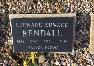 102B Middle - Leonard Rendall