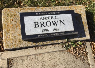 105A North- Annie Brown