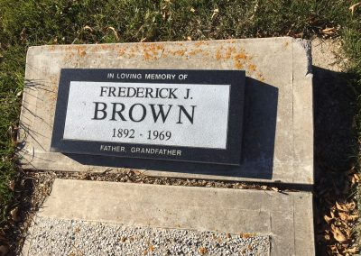 105A South - Frederick Brown