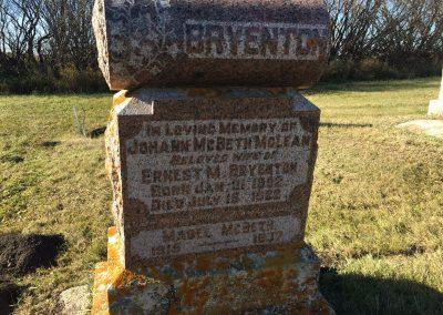 117B North - Johann McBeth McLean Bryenton 117B - Mabel McBeth