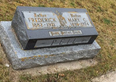 36A South - Frederick Peil (SR) North - Mary C. Peil