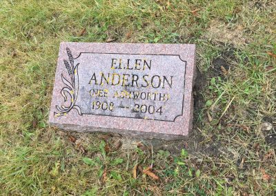 41B North - Ellen Anderson (nee Ashworth)