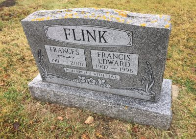 45A South - Frances Flink North - Francis Edward Flink