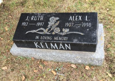 56B South - J. Ruth Kelman North - Alexander Kelman