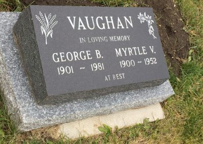 62B South - Myrtle Vaughan North - George Vaughan