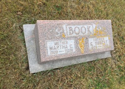 69B - South - Martha C. Book North - G. Robert Book