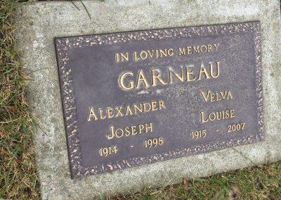 75A Middle (C) - Alexander Joseph Garneau - Velva Louise Garneau