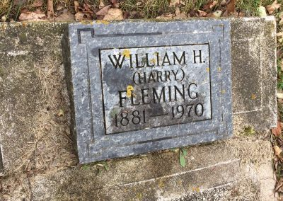 78B North - William H. (Harry) Fleming