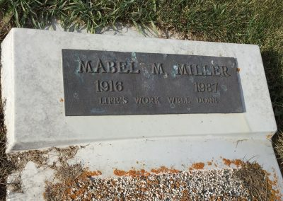 92A North - Mabel Miller
