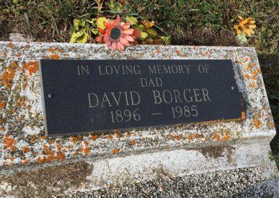 95B South - David Borger
