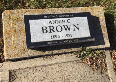 105A North- Annie Brown