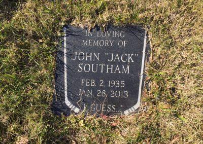 111B Middle (C) - John (Jack) Southam