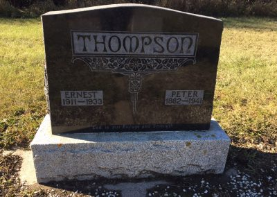 114A North - Peter Thompson 114A South - Ernest Thompson