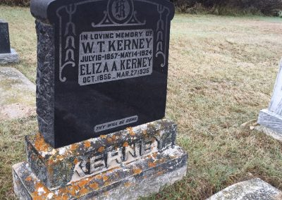 123B North - Eliza Kerney South - W.T. Kerney