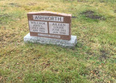 41A South - William Ashworth North - Aileen Ashworth