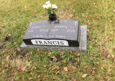 49A South - Rodney Francis North - Marion Francis