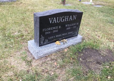 58B South - Florence Vaughan North - William Vaughan