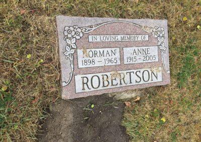 70B South -Norman Robertson North - Anne Robertson