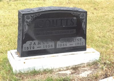 71A South - James Coutts - North - Caroline Coutts