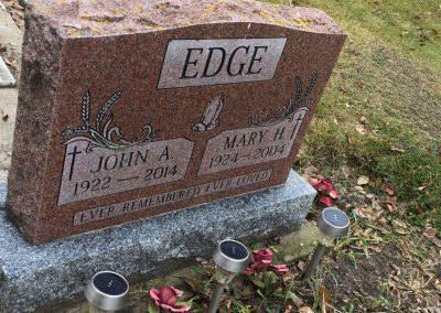 77B South - John A. Edge North - Mary H. Edge