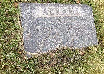 85A South -Lena Abrams North - Herbert Abrams