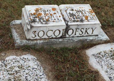 88A South - Maria Socolofsky North - Andrew Socolofsky