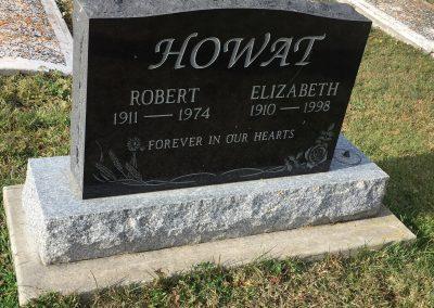 93B South - Robert Howat North Elizabeth Howat