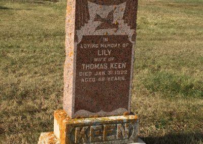 98A South - Thomas Keen North - Lillian Keen